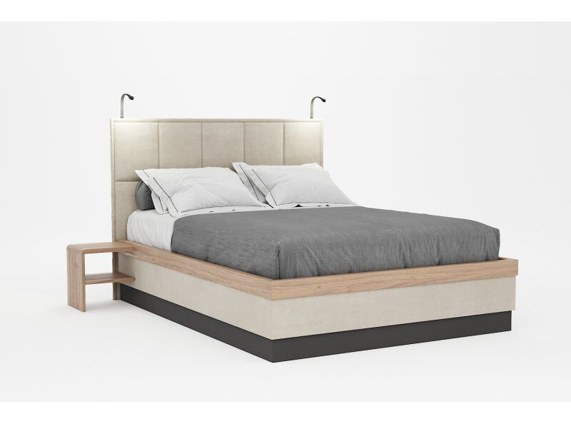 Tivoli Double Bed with Side Tables