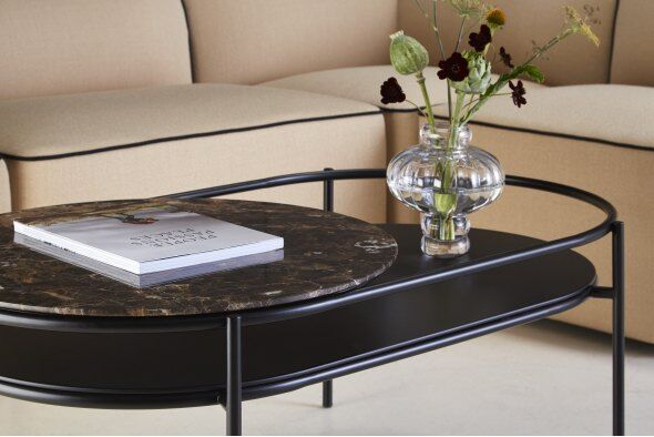 Verde Marble Top Coffee Table