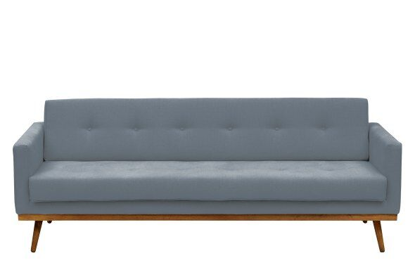 Hugo 3-Seater Linen Sofa