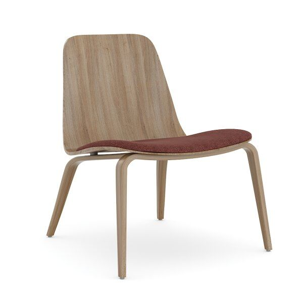 Hips Lounge Chair Upholstered / 2