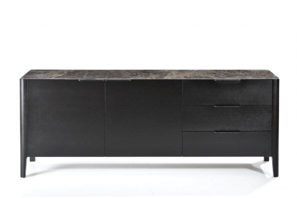 Alba Sideboard, Marble-effect Ceramic Top