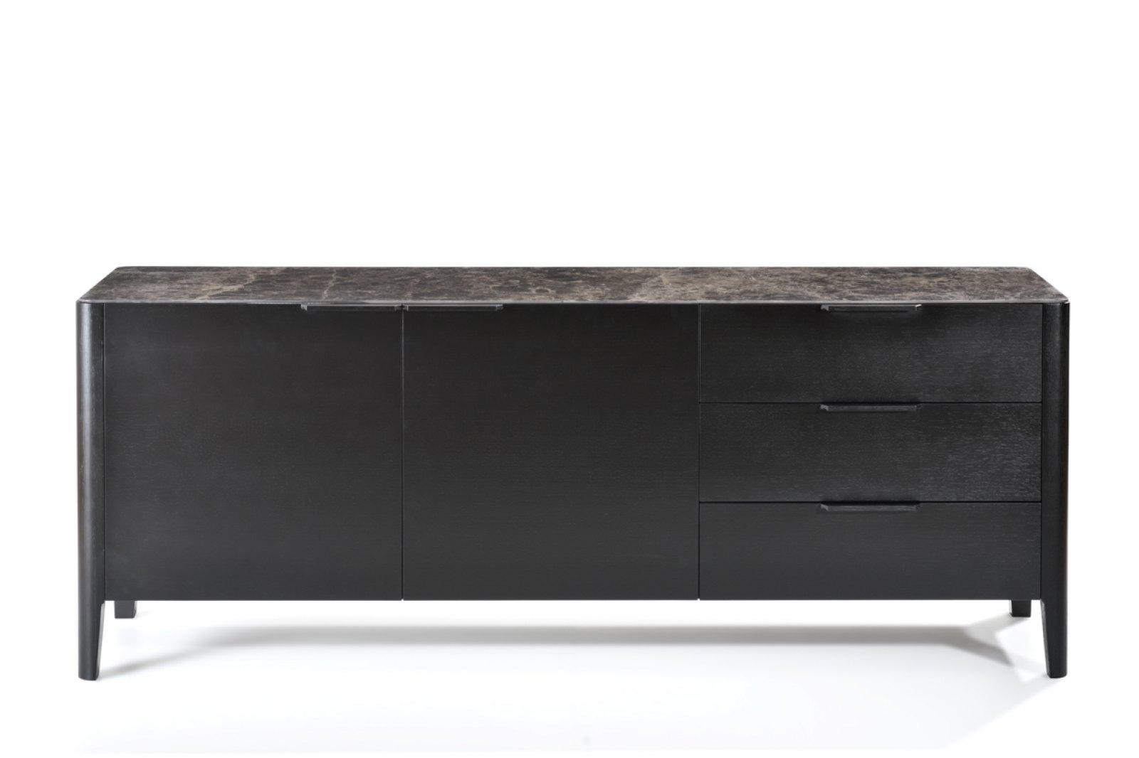 Alba Sideboard, Marble-effect Ceramic Top / 1