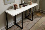 Flap Transforming Console - Dining Table 130 cm  / 5 Preview