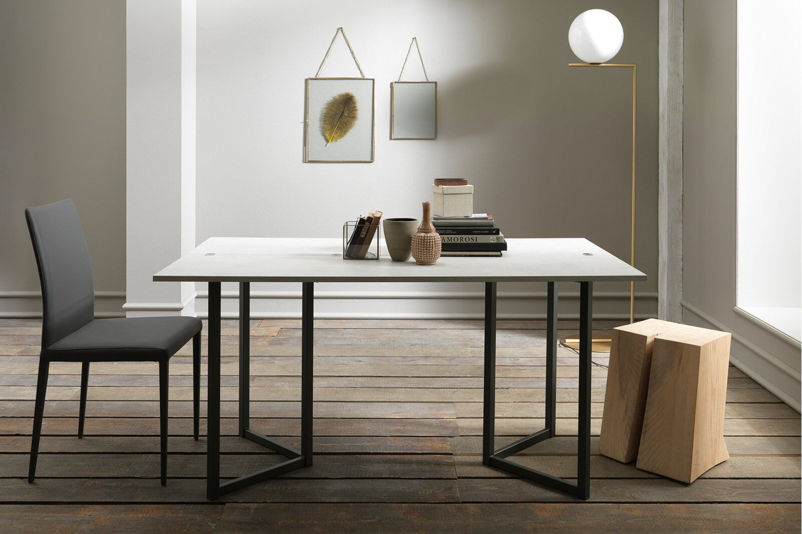 Flap Transforming Console - Dining Table 150 cm  / 1