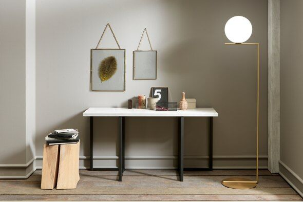 Flap Transforming Console - Dining Table 150 cm