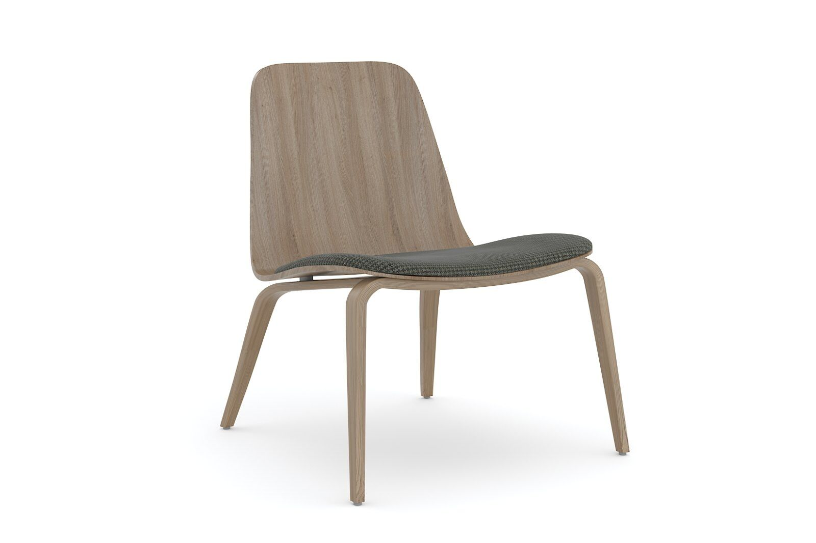 Hips Lounge Chair Upholstered / 1