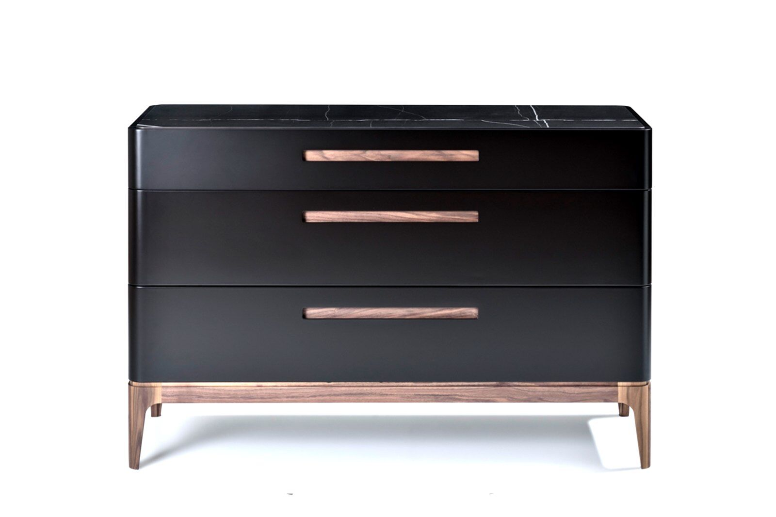 Eclipse Chest of Drawers, Marble-effect Ceramic Top / 1