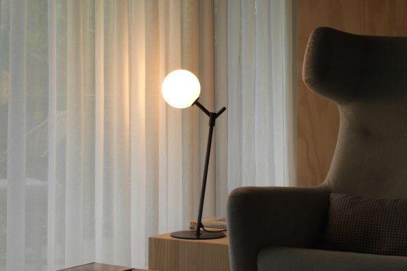 Atom Globe Accent Table Lamp / 2