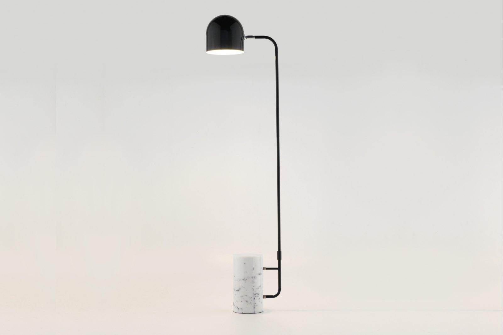 Modric Marble Base Floor Lamp / 1