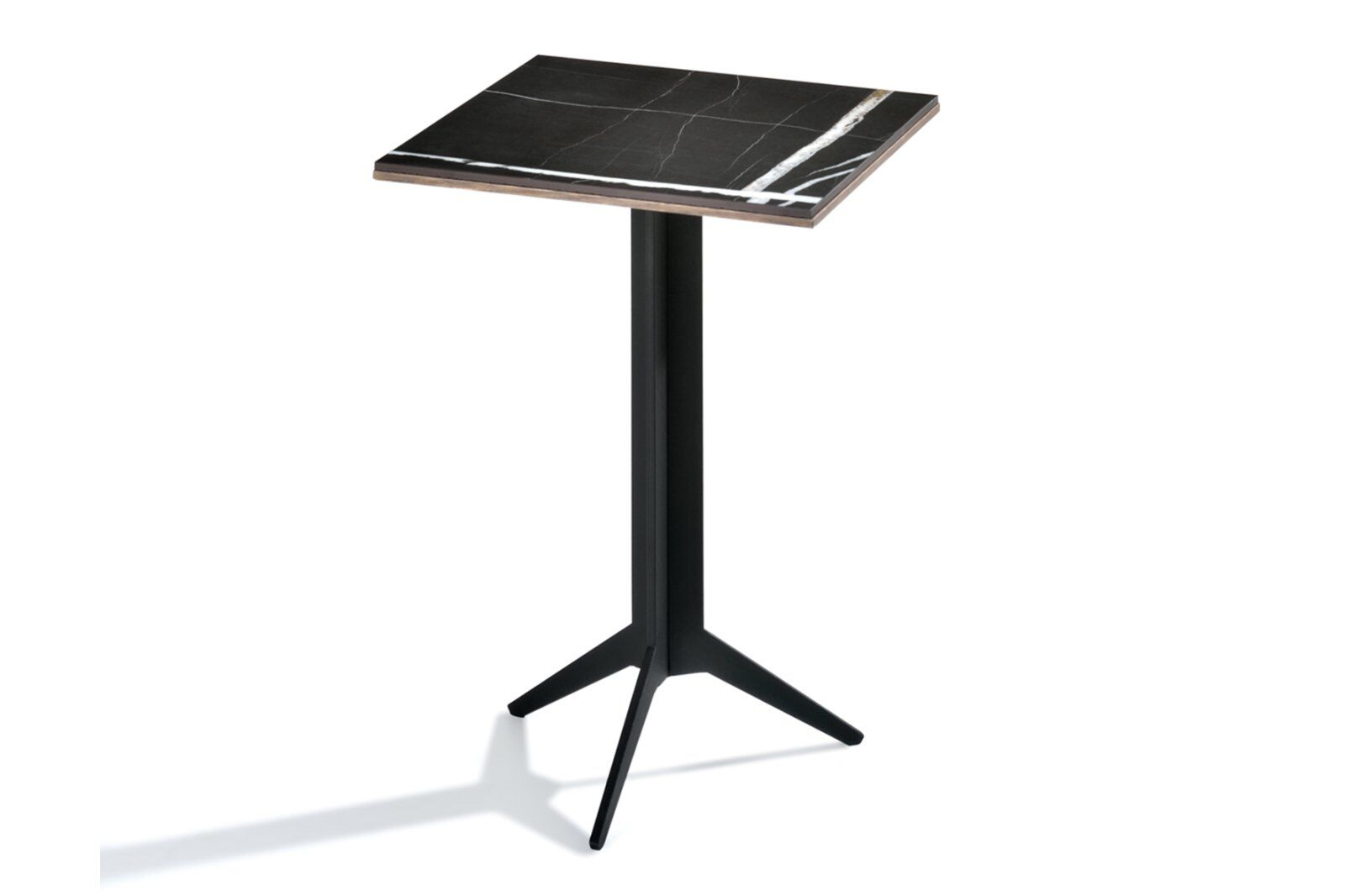 New York Small Side Marble-effect Top Table / 1