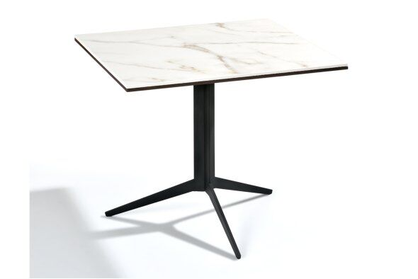 New York Square Marble-effect Top Coffee Table