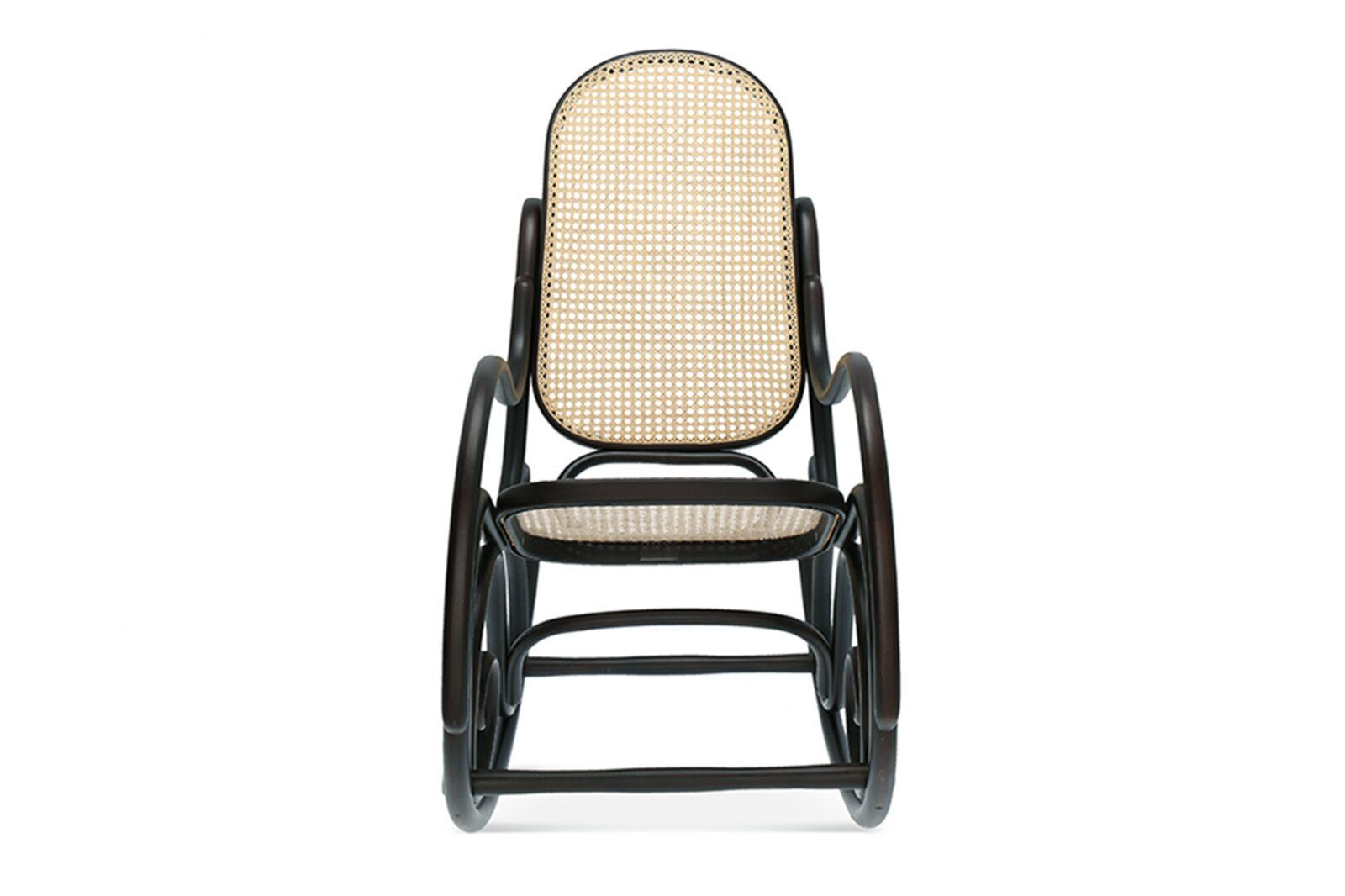 Robin Cane Bentwood Rocking Chair / 1