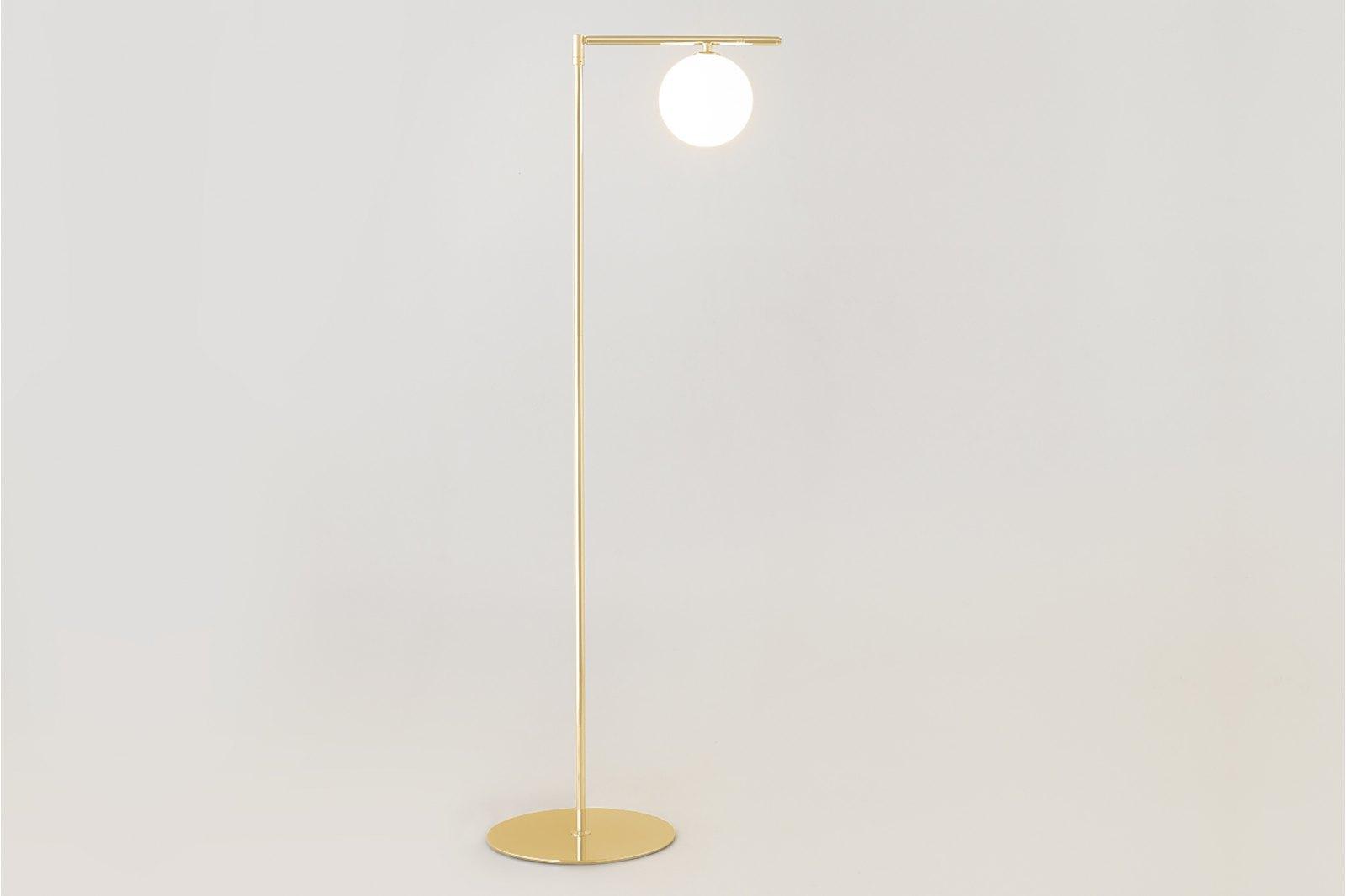 Sumo Globe Floor Lamp Brass / 1