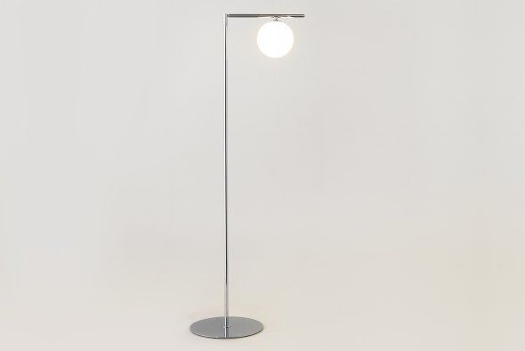 Sumo Globe Floor Lamp Chrome