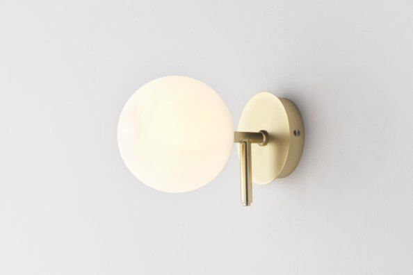Atom Globe Wall Light / 2