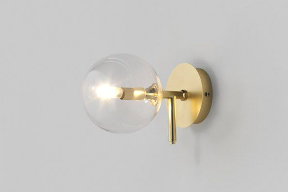 Atom Globe Wall Light