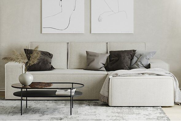 Hoxton Corner Sofa - Right Hand