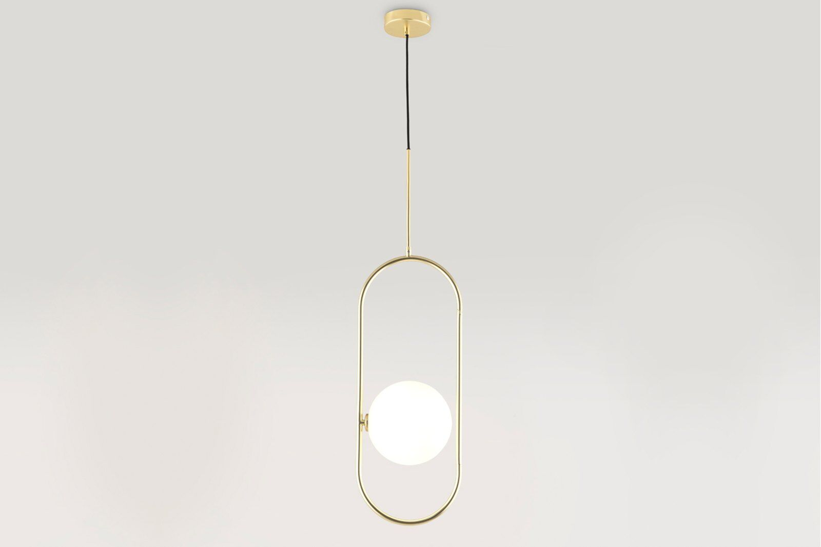 Cranmer Pendant Lamp, one sphere / 1