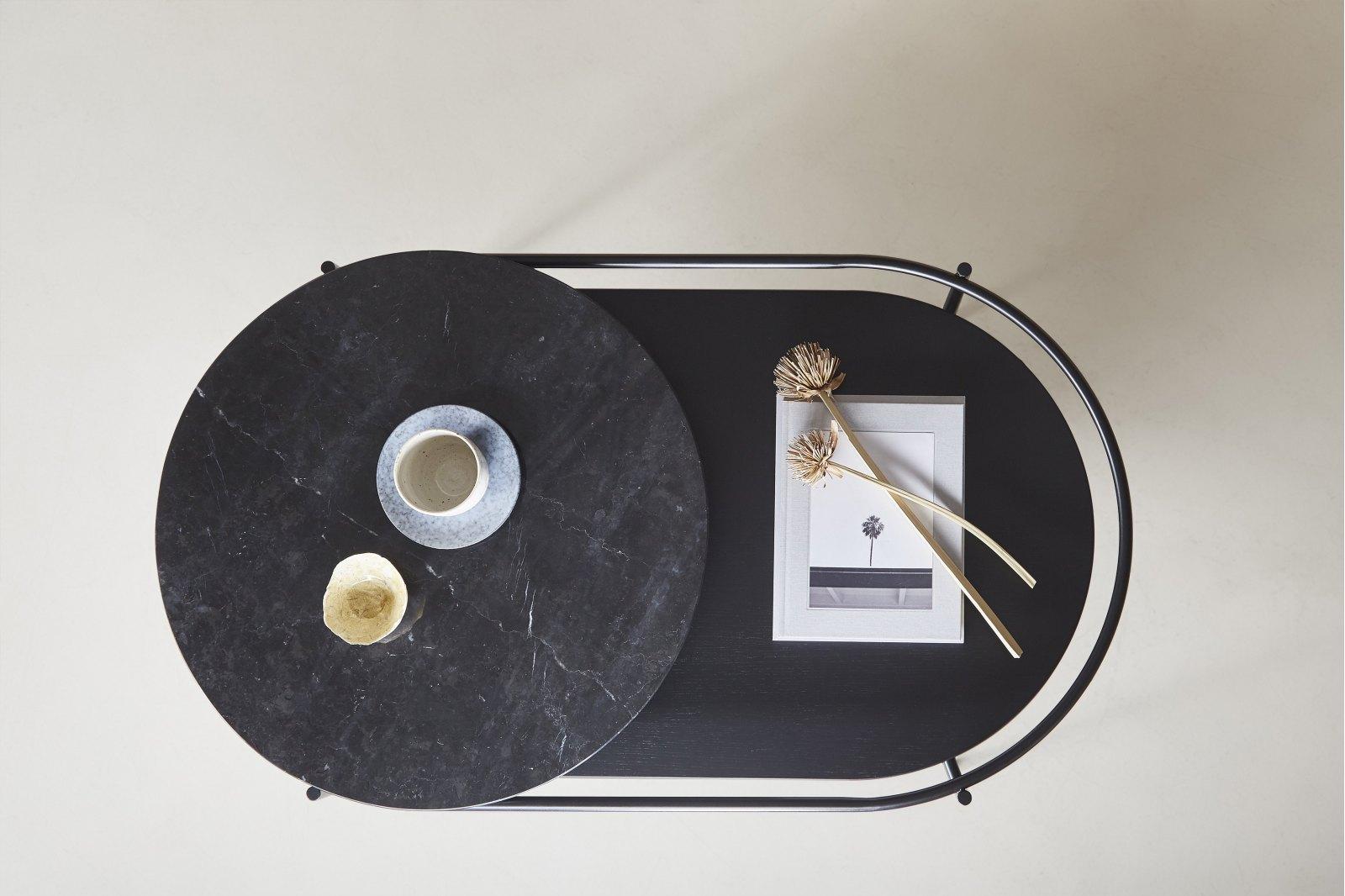 Verde Marble Top Coffee Table / 1