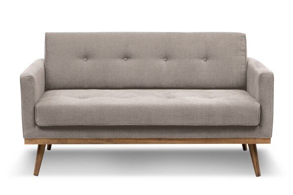 Hugo 2 Seater Linen Sofa / 2