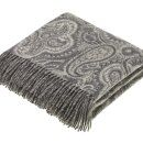 Bayswater Paisley Slate Lambswool Throw / 1 Preview