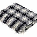 Houndstooth Charcoal Lambswool Throw / 1 Preview