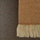 Parquet Gold Lambswool Throw / 3 Preview