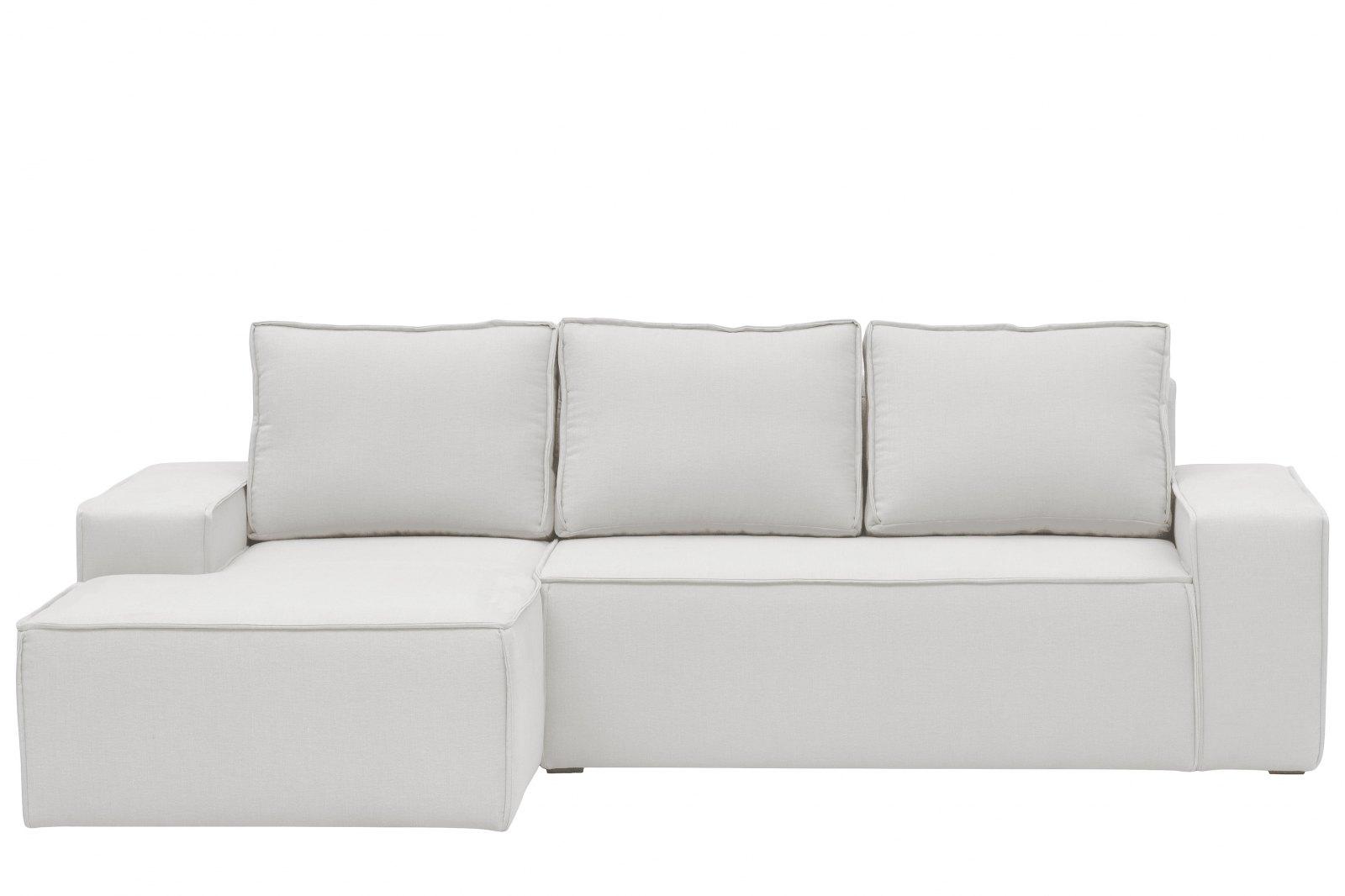 Hoxton Linen Corner Sofa-Bed - Left Hand / 1
