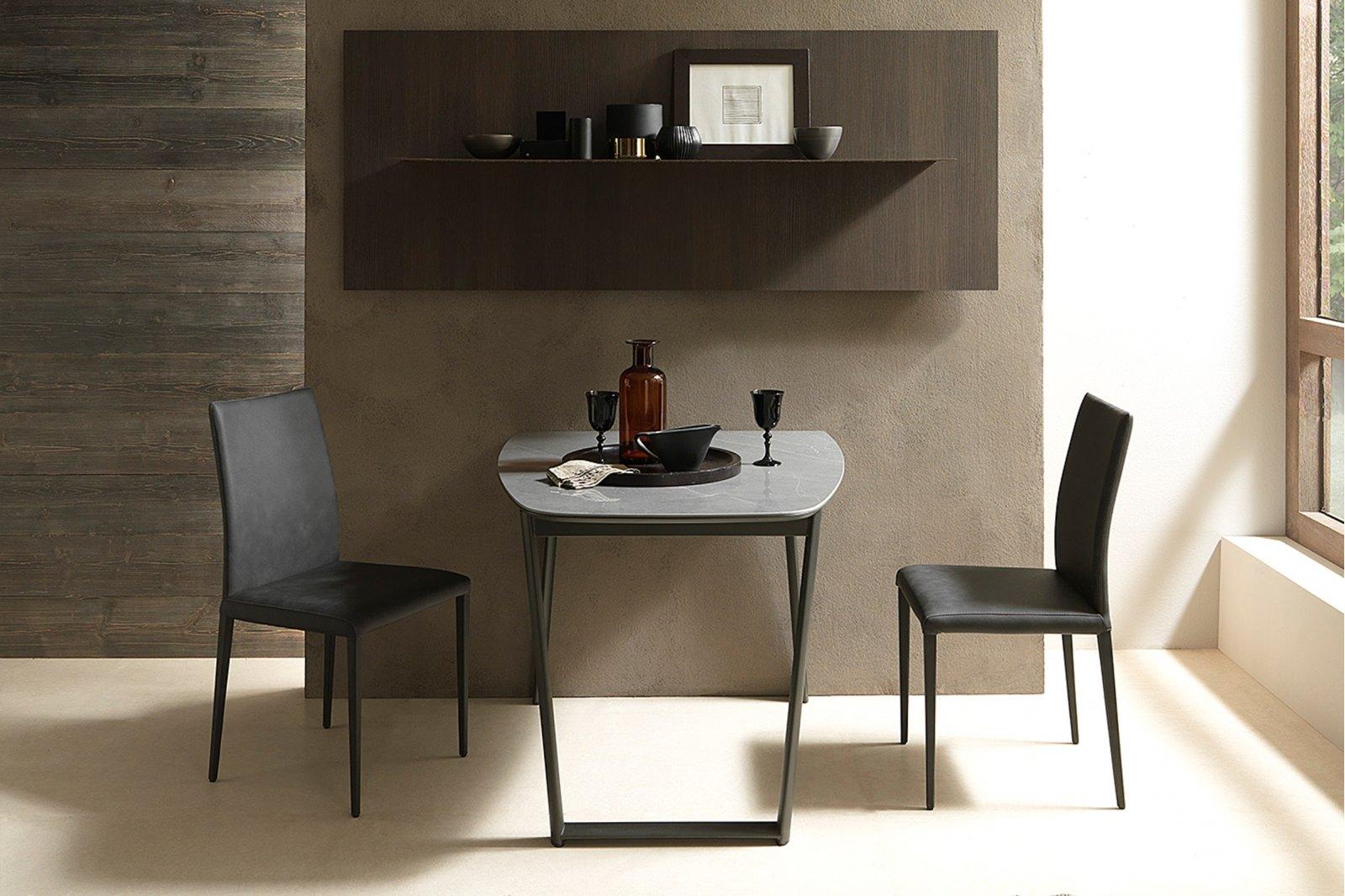 Shasta Transforming Ceramic Oval Dining Table 110/170cm / 1