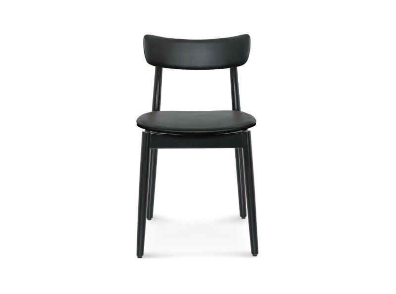 Nopp Chair, Leather Back & Seat