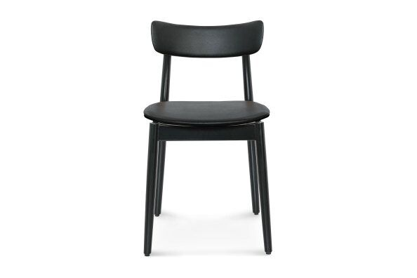 Nopp Dining Chair, Leather Back & Seat / 2