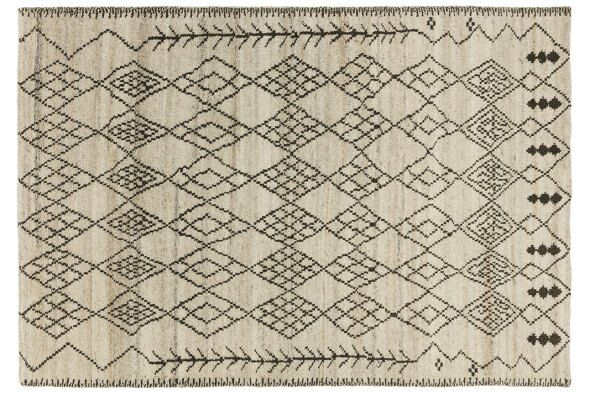 Atlas Hand-Knotted Wool Rug 120x170cm