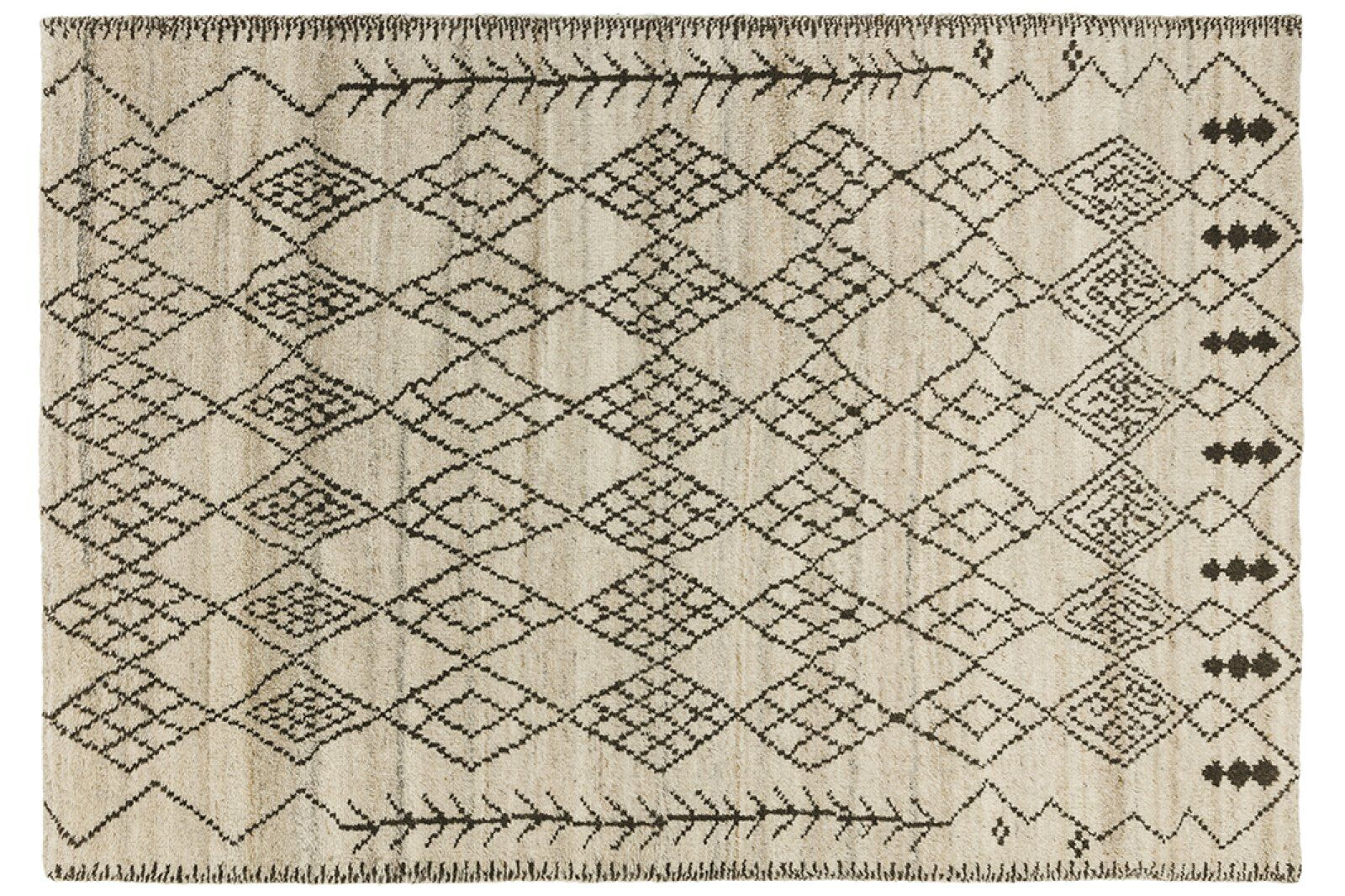 Atlas Hand-Knotted Wool Rug 120x170cm  / 1