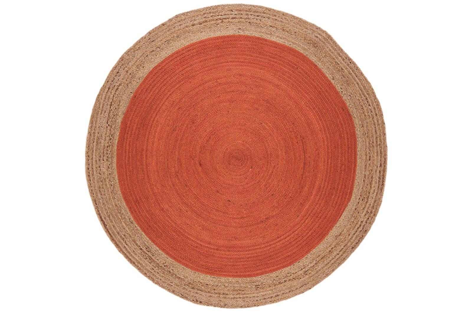 Eivissa Round Jute Rug 160x160cm  / 1