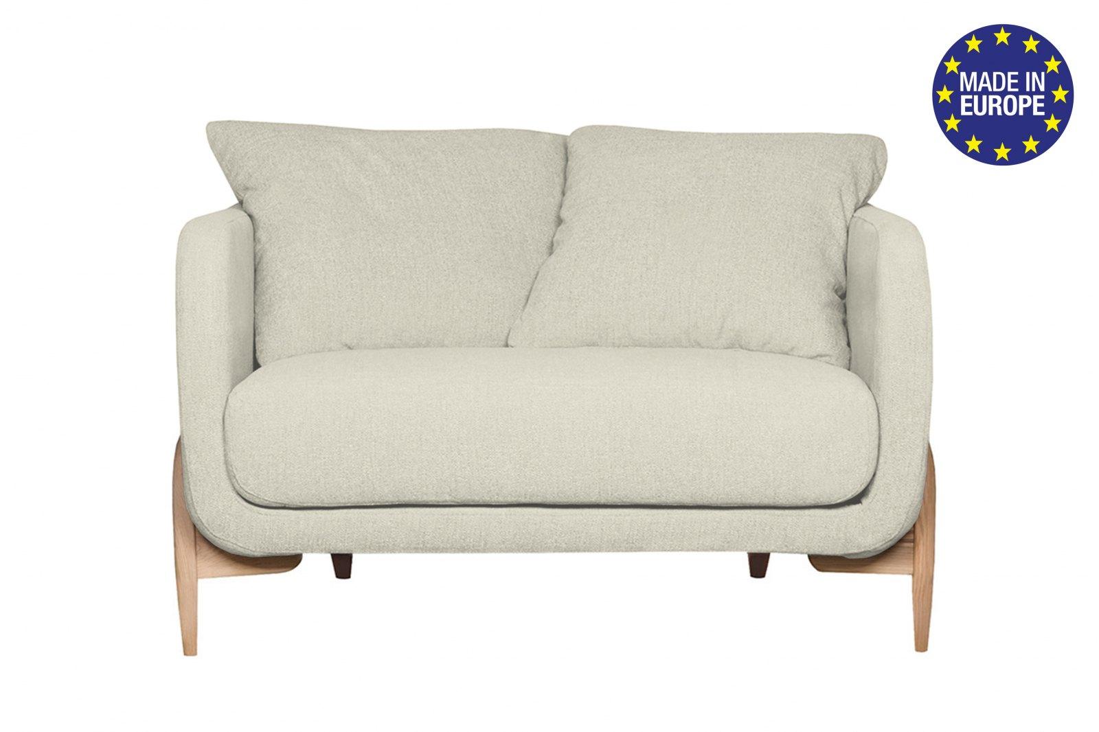 Janson Wide Linen Armchair / 1