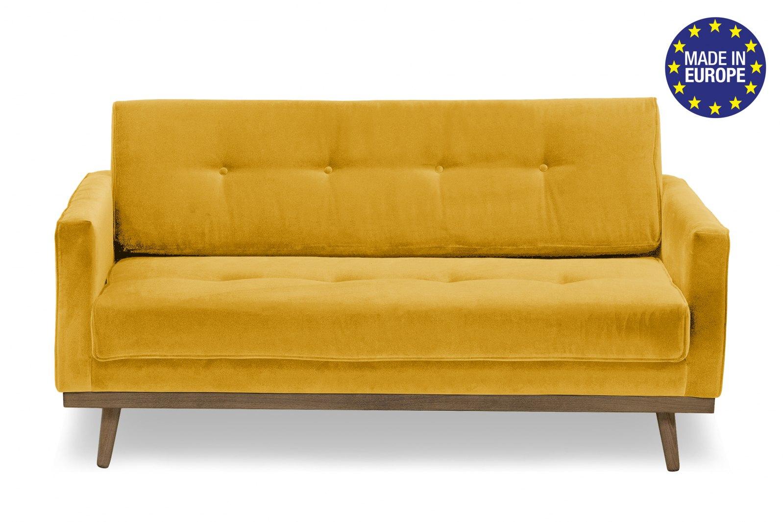 Hugo 2 Seater Velvet Sofa / 1