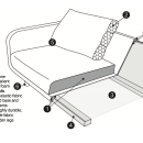 Janson 3 Seater Linen Sofa / 6 Preview
