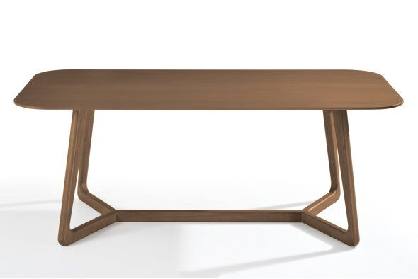 Totem Dining Table 220cm, Wood Top