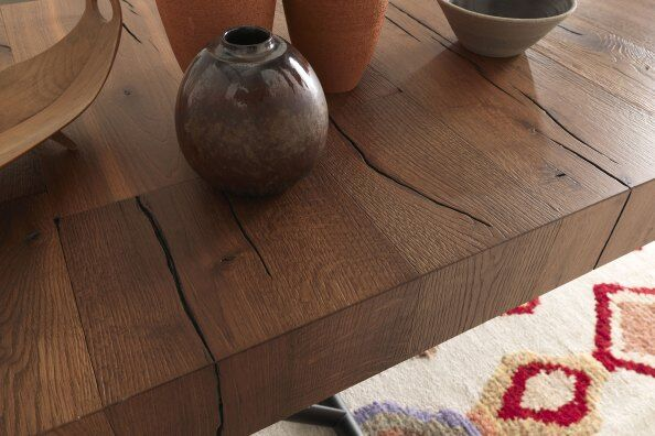 Trento Oak Transforming Coffee to Dining Table 160/200cm / 2