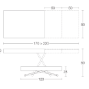Anderson Transforming Coffee to Dining Table 120/220cm / 7 Preview