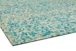 Bissara Gold Patchwork Leather Rug - 160x230 cm / 6 Preview