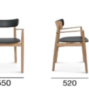 Nopp Leather Back & Seat Armchair / 4 Preview