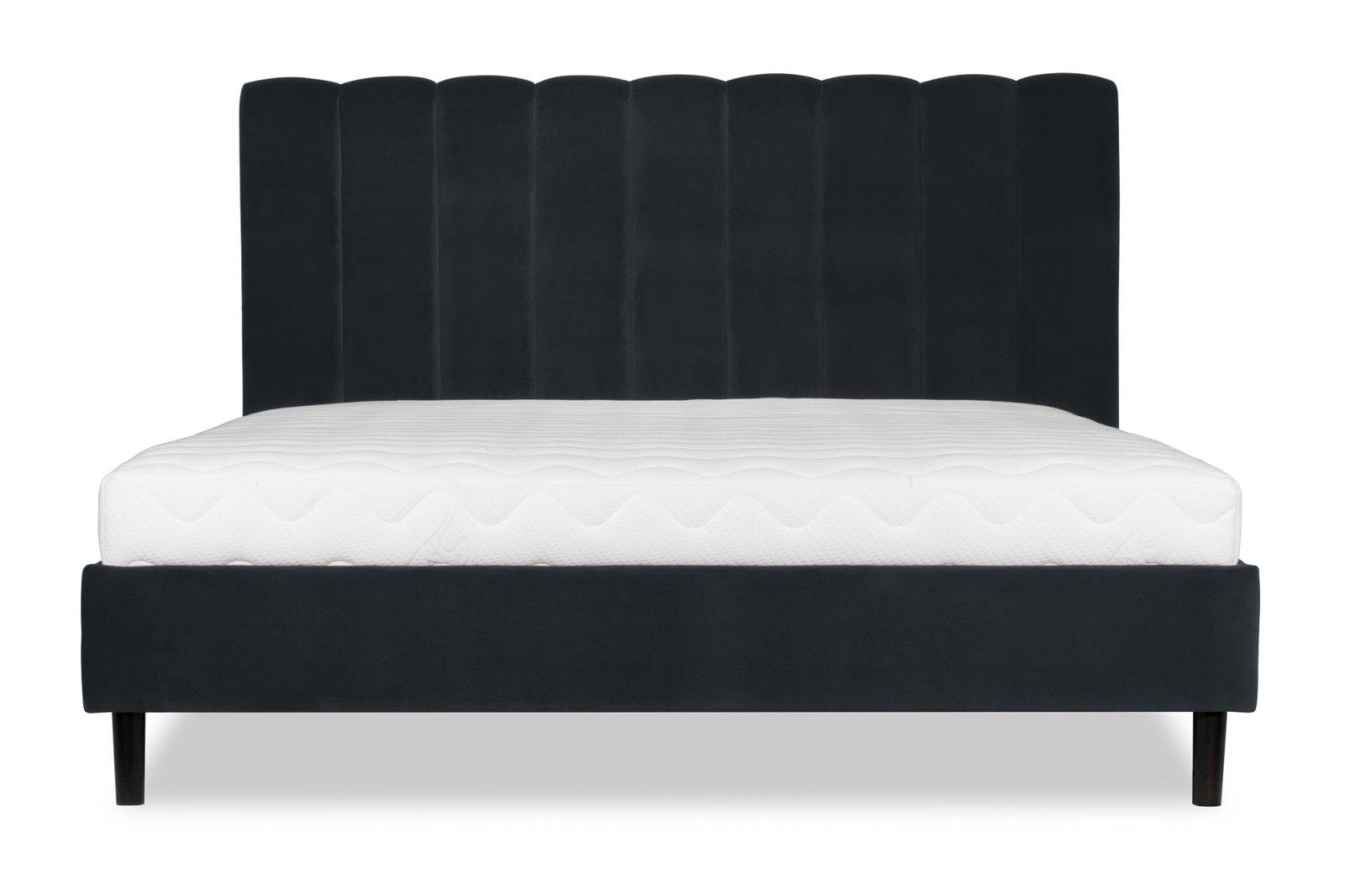Vivien Velvet Double Bed 140cm / 1