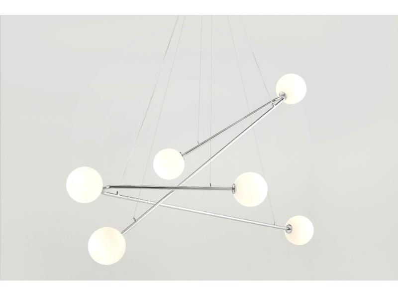 Aldo 6 Globe Pendant Light