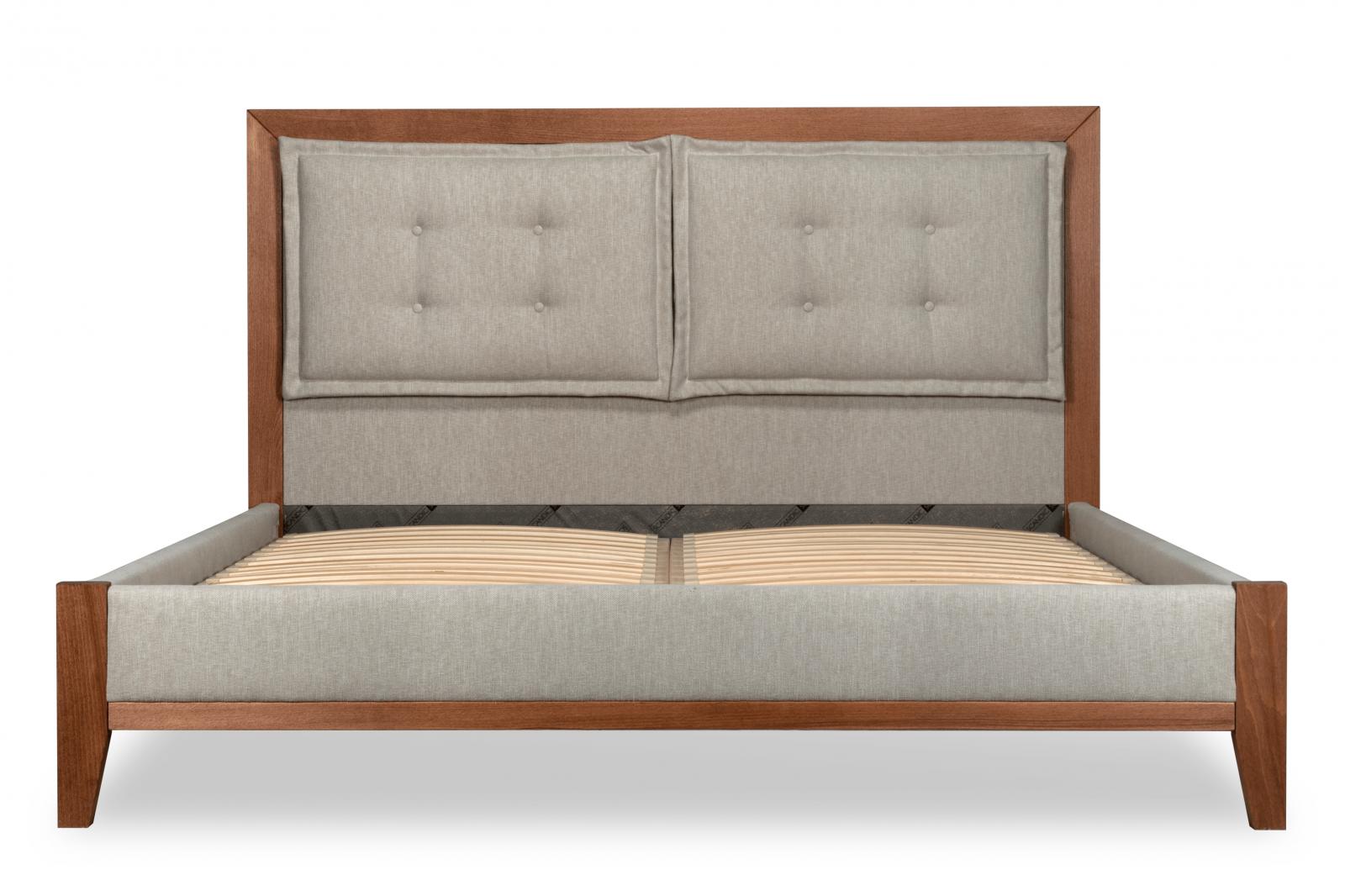 Easton Super King Bed , Solid Wood Frame / 1