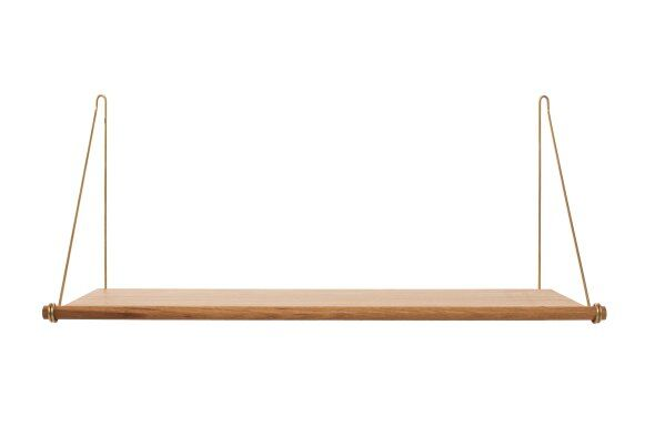 Tilde Loop Oak Shelf