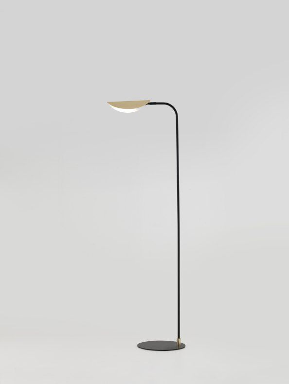 Remy Gold Floor Lamp