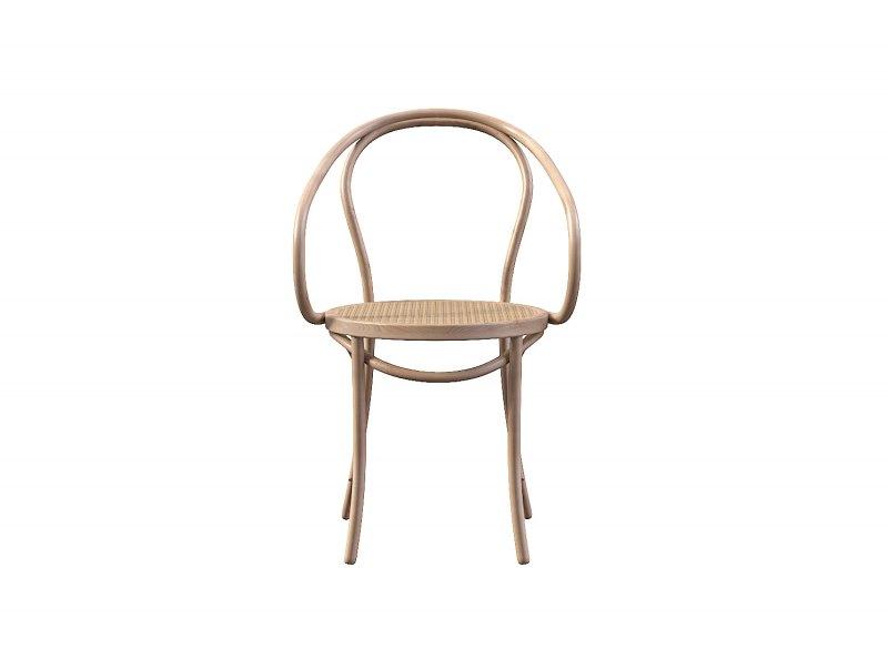 Berlin Cane Bentwood Armchair