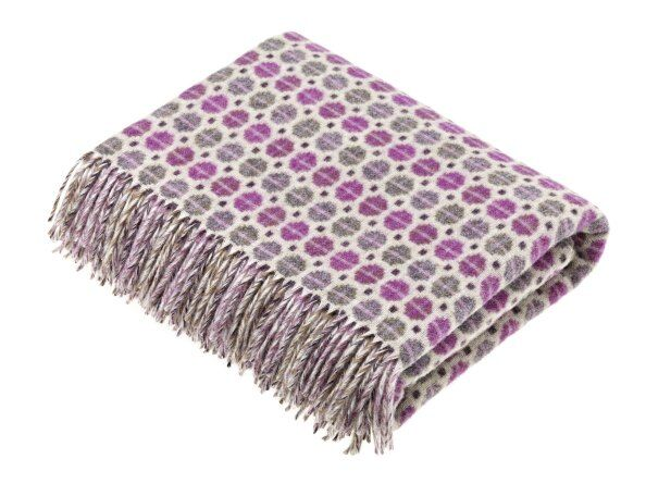 Milan Merino Lambswool Throw 185 x 140cm