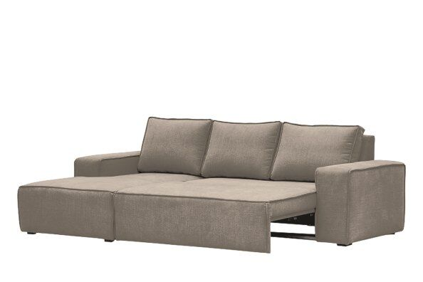 Hoxton Linen Corner Sofa-Bed - Left Hand / 2